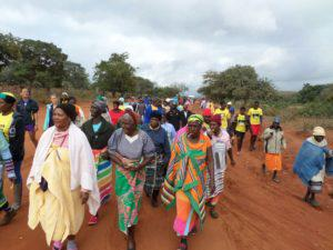 More than 80 grannies from Makuya village, near Niani in Limpopo participated in another fun walk earlier this year.
