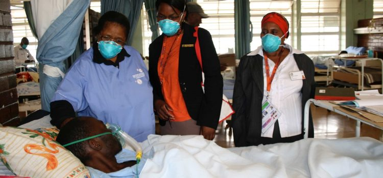 Skilled nurses strengthen HIV fight