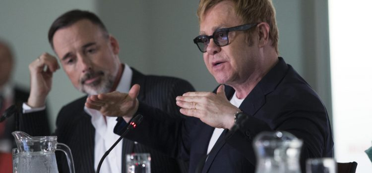 HIV won't stop without gay community – Elton John