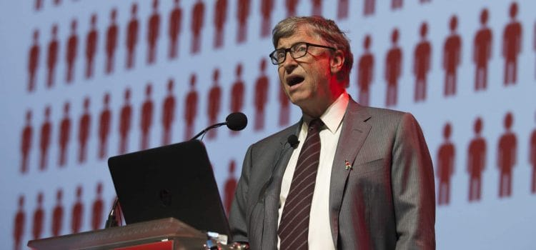 Need double the efficiency, says Gates
