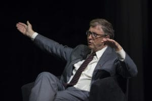 Bill Gates Pic: AIDS2016