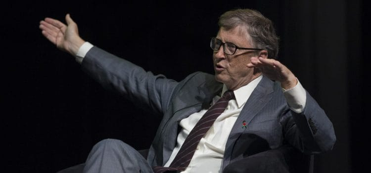 Microsoft boss Bill Gates prioritises healthcare over laptops