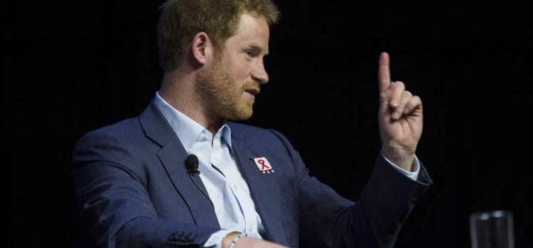 Prince Harry calls for global action against HIV