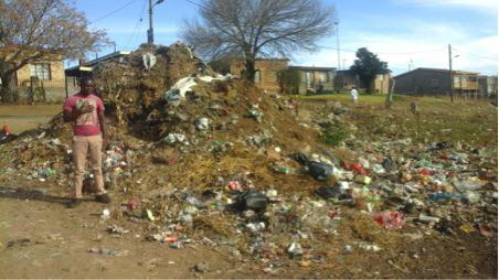 'My street is a dump site'