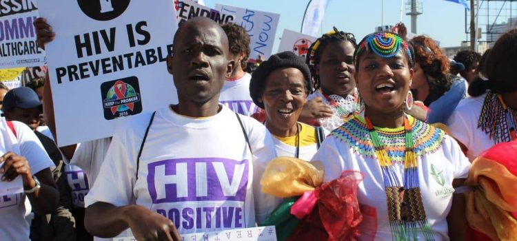 Code red: AIDS activists march for treatment for all