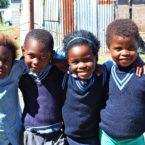 Primary school children, Eastern Cape Pic: Kerry Cullinan