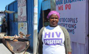 Living with HIV, Khayelitsha