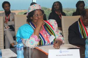 Former Malawian president Joyce Banda