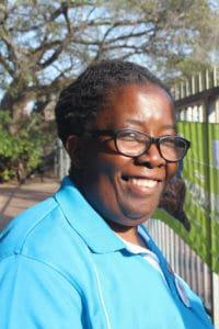 Zimbabwean activist Martha Tholanah