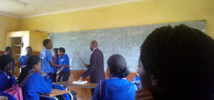 Teacher photographed assaulting pupils at Limpopo high school