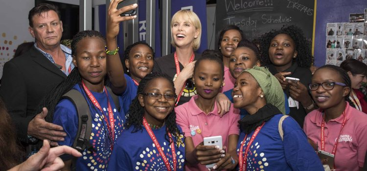 Charlize says HIV driven by exclusion of groups
