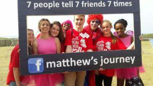 Thousands of people gathered in Durban for a Proud 2b an Organ Donor