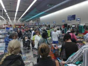 A busy South African supermarket. (Credit: Flcikr/ Steve Crane).