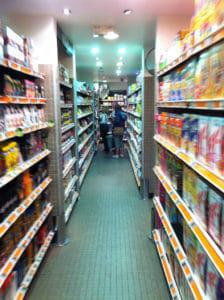 Supermarkets offer consumers a wide rage of processed food options. (Credit: Flickr/ Sean MacEntee)