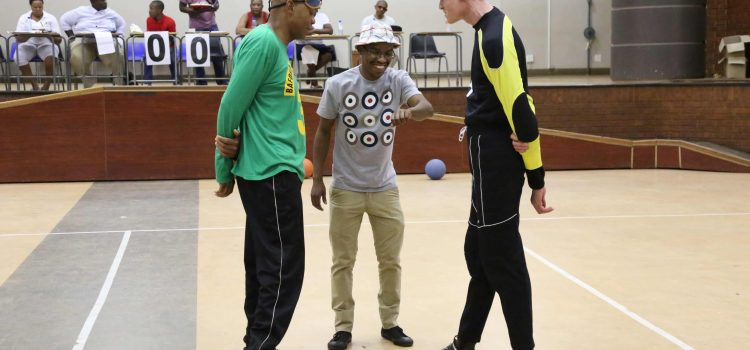 New sport Goalball takes off in Vhembe