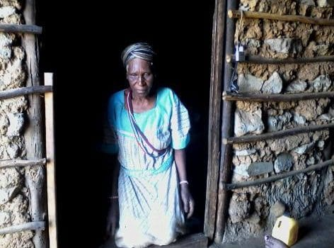 Village pensioners rely on health care workers