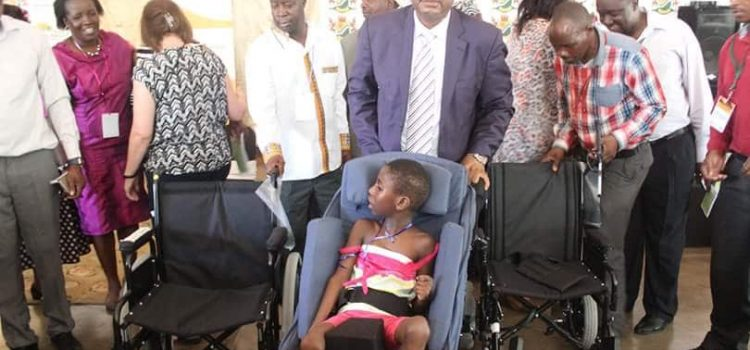 30 wheelchairs given to disabled patients at Tintswalo Hospital