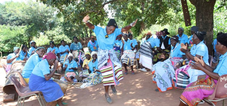 Traditional dance & football keep grannies fit