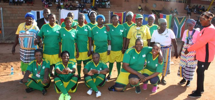 Rural grannies are fighting old age through football