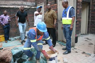 Jeppe Clinic renovations 'on track' for October 1 re-opening