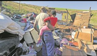 Municipality refuses to rebuild demolished houses