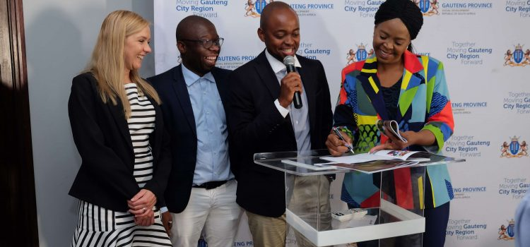 Gauteng partnership to provide pads to a million girls