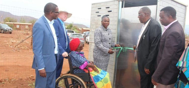 Hundreds of toilets for rural community in Limpopo
