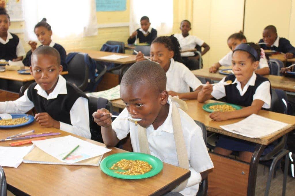 School meals. School Nutrition Programme Resumption