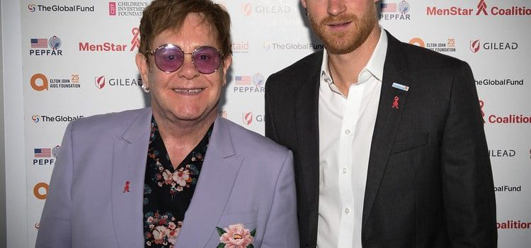 Prince Harry and Elton John target men