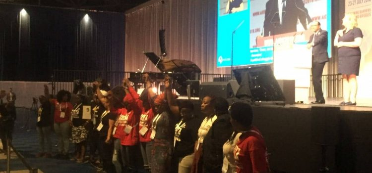 Delegates walk out of AIDS conference opening