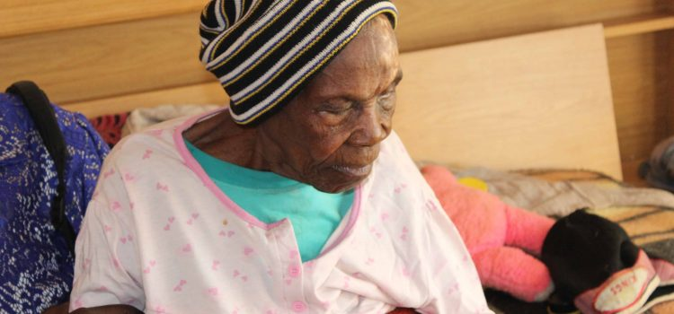 Is this granny the oldest person in Vhembe?