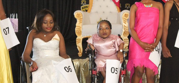 Rural disabled women shine in beauty contest