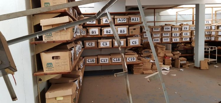 Patients' files dumped in abandoned building