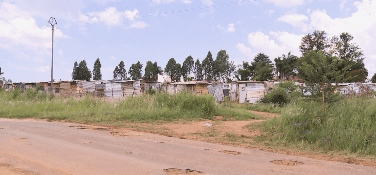 Evicted: 'The Red Ants broke into people's shacks'