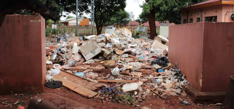Neglected clinic's unbearable stench