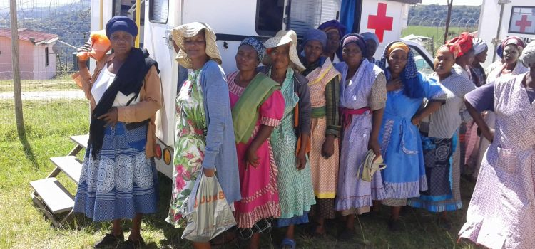 Villagers' treacherous journey for healthcare