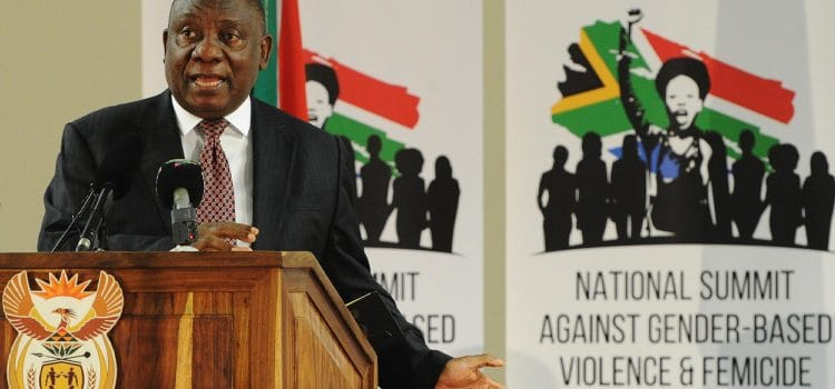 Gender-Based Violence Summit fails to meet its own deadline