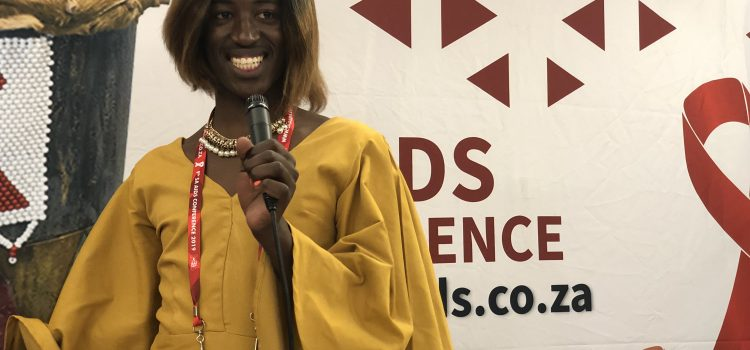 #SAAIDS2019: Trans teen shifts rural attitudes to LGBTQI