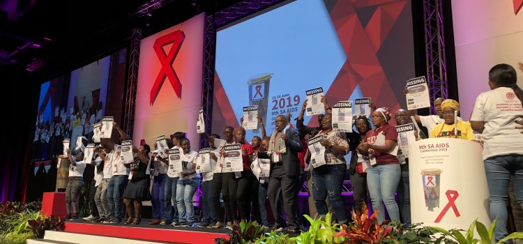 #SAAIDS2019: 'Our lives, our dignity is not negotiable'
