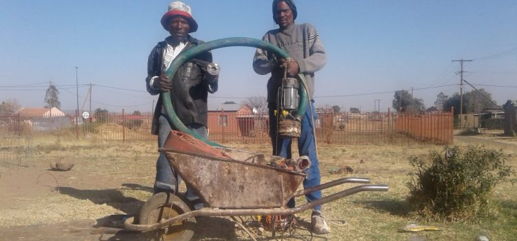 Residents forced to find solutions to cope with full pit latrines