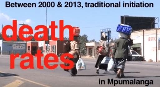 Ending traditional circumcision deaths in Mpumalanga
