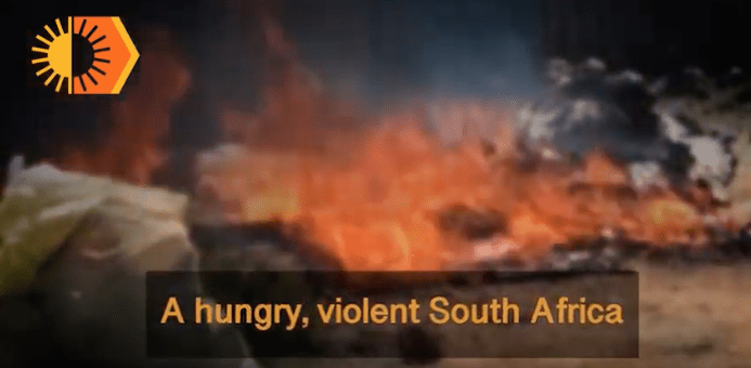 A hungry, violent South Africa