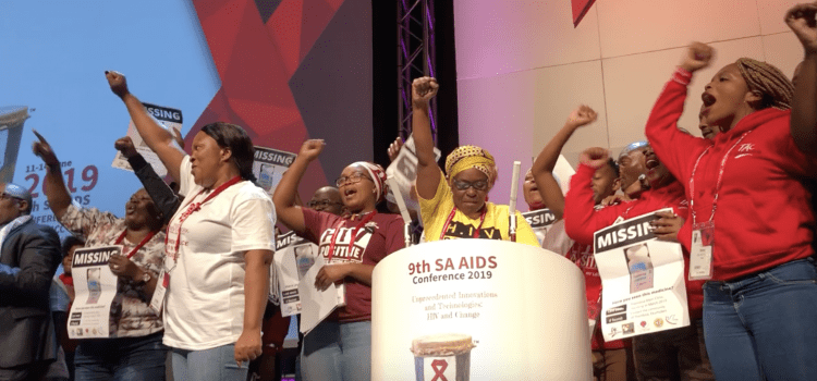 The Treatment Action Campaign at #SAAIDS2019