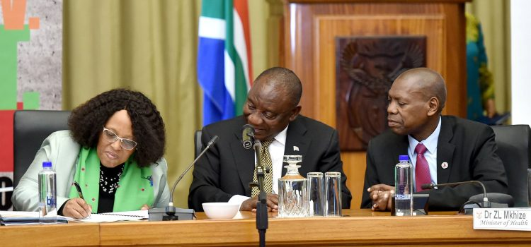 Ramaphosa launches anti-corruption forum 'to protect the NHI Fund'