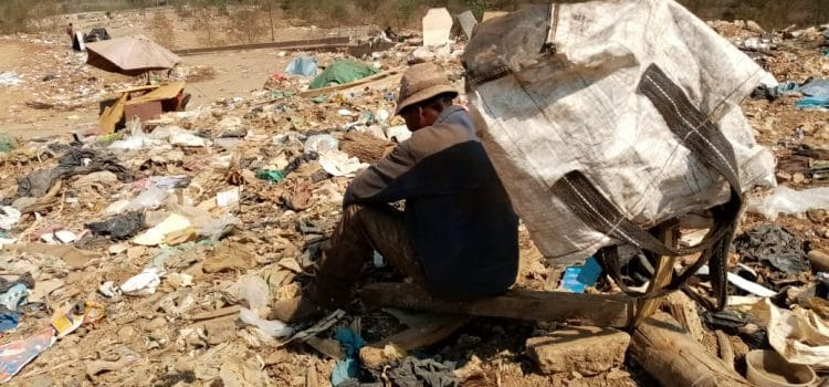 Waste pickers at tremendous health risk