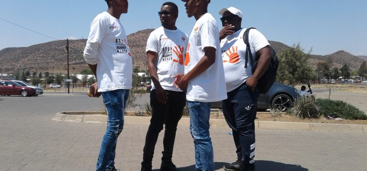 GBV in the Free State prompts community activism