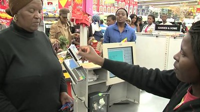 Elderly KZN social grantees happy with early payment