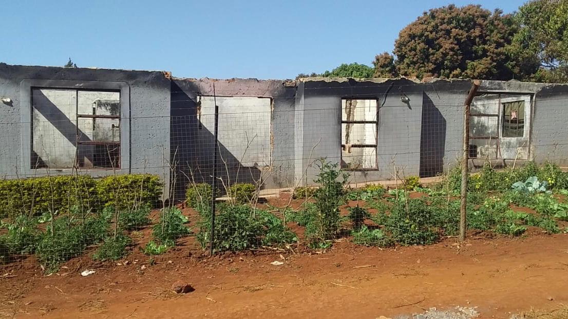 Fire leaves Limpopo family destitute