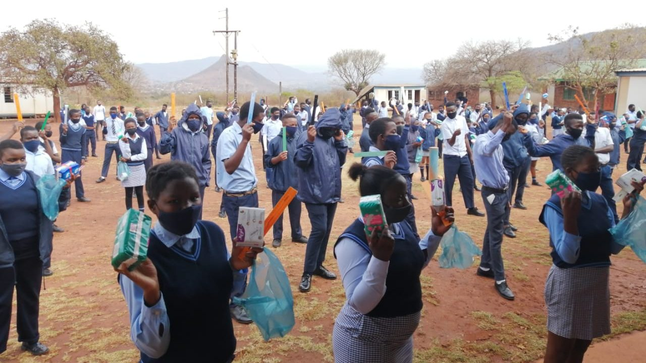 Access to sanitary pads