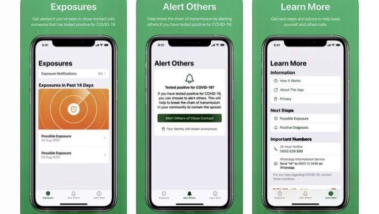 Covid Alert SA app launched